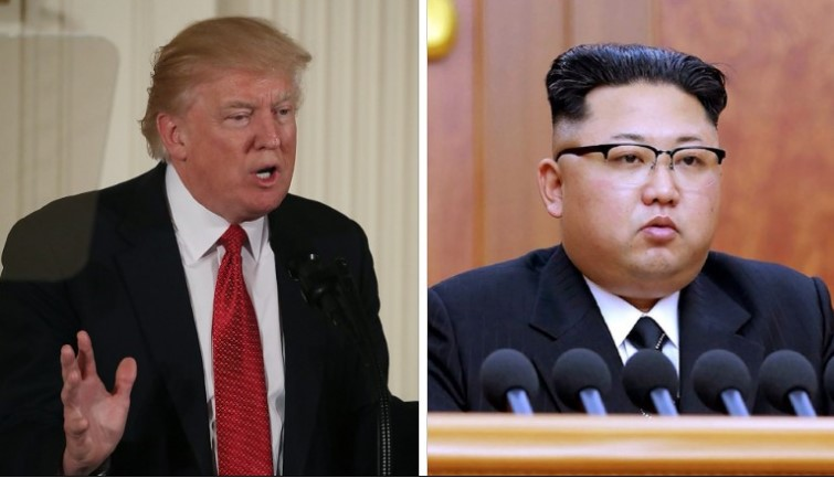 O presidente Trump concordou em se reunir com o líder norte-coreano Kim Jong Un para conversas até o final de Maio, um desenvolvimento extraordinário