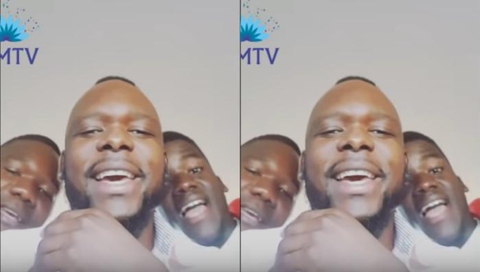 Mr Bow e seus irmãos cantando o sucesso Guilhermina faz sucesso na net