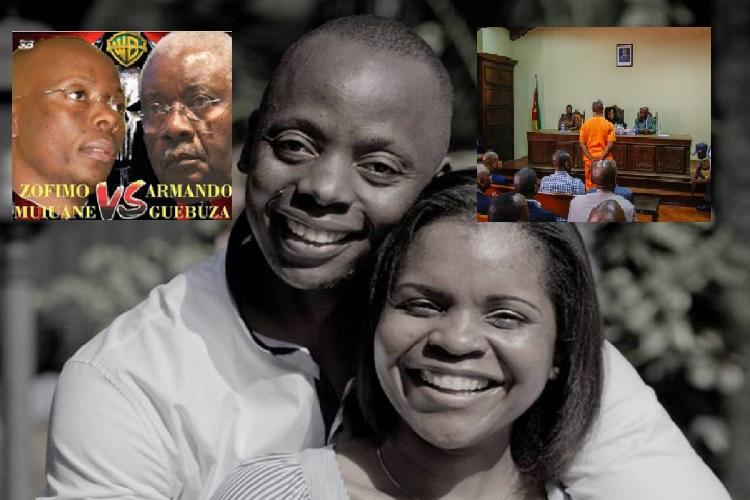 O Tribunal Judicial de Maputo condenou hoje Zófimo Muiane a 24 anos de prisão, pena máxima, pelo homicídio da esposa, Valentina Guebuza, filha do ex-Presidente moçambicano Armando Guebuza, ocorrido em dezembro de 2016.
