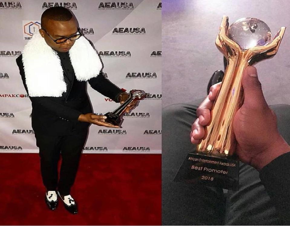 O jovem empresário e promotor de eventos moçambicano, Guyzelh Ramos, venceu ontem sábado (20) na categoria de melhor promotor de África no concurso AEAUSA