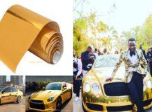 Importa referir que Joel Williams se auto intitula o mais rico de Moçambique. Sendo assim, só pode provar que o carro realmente é dourado.