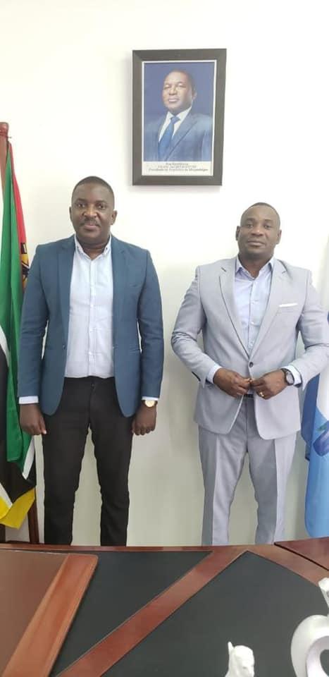 Puto Aires e William Tunzine, Presidente do Conselho Municipal de Vilankulo